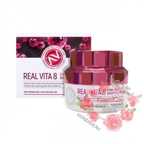 Крем питательный витаминный Real Vita 8 Complex Pro Bright up Cream