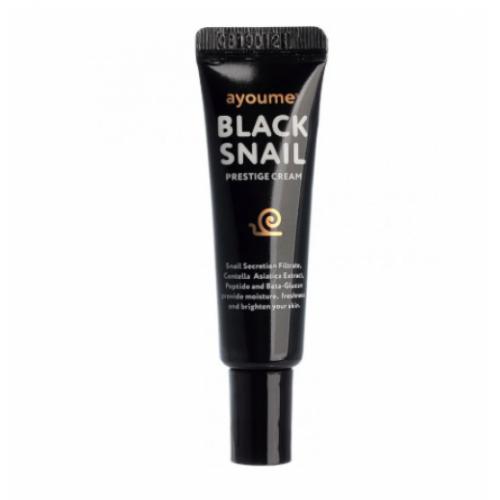 Крем для лица с муцином черной улитки AYOUME Black Snail Prestige Cream miniature 8мл