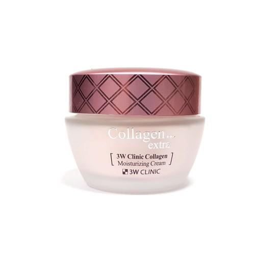 Увлажняющий крем для лица с коллагеном 3W Clinic Collagen Extra Moisturizing Cream