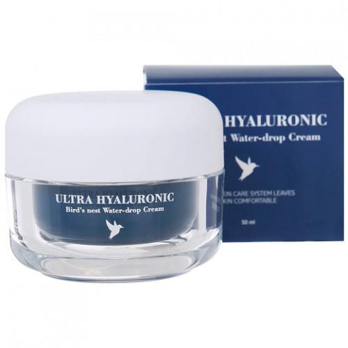 Крем с гиалуроновой кислотой и экстрактом ласточкиного гнезда ESTHETIC HOUSE Ultra Hyaluronic Bird's Nest Water-drop Cream