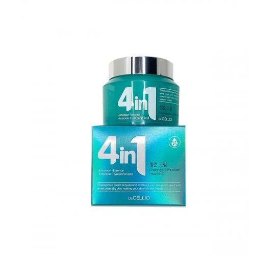Крем с гиалуроновой кислотой Dr.CELLIO G50 4 IN 1 CHEONGCHUN CREAM (Hyaluronic Acid)