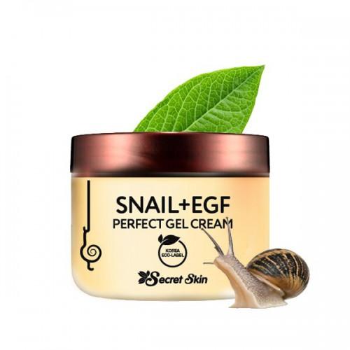 Крем-гель для лица с экстрактом улитки SECRETSKIN SNAIL+EGF PERFECT GEL CREAM