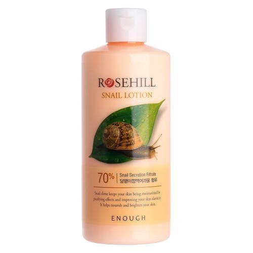 Лосьон для лица с муцином улитки Enough RoseHill Snail Lotion