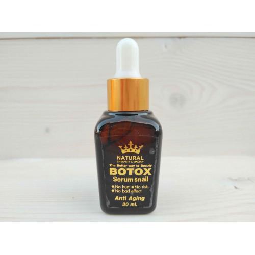 Лифтинг-сыворотка ботокс с фильтратом улитки Botox serum snail