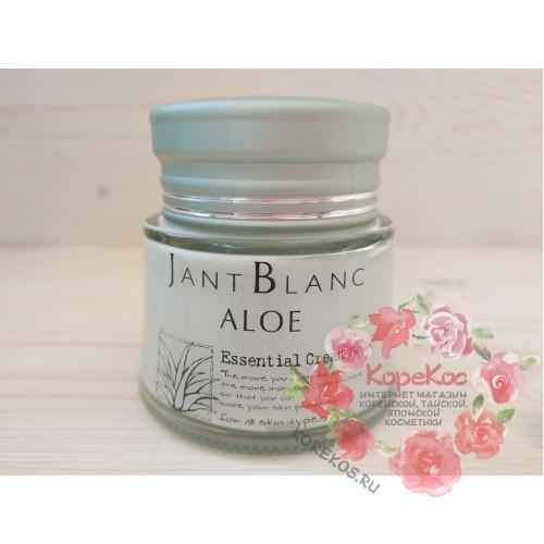Крем для лица с алоэ JANT BLANC Aloe Essencial Crem