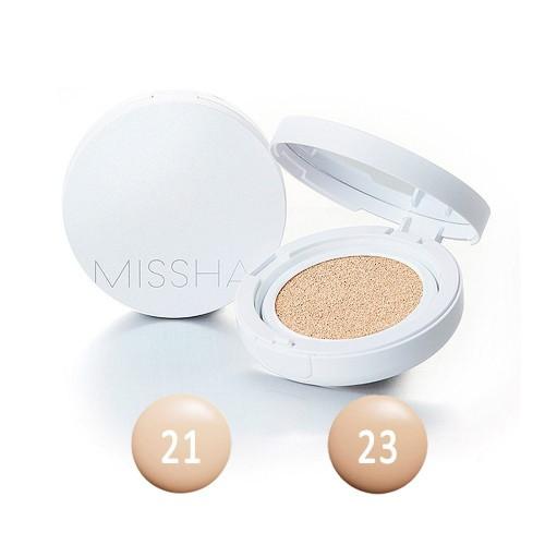 Тональный крем-кушон увлажняющий SPF50+ PA+++ MISSHA Magic Cushion Moist Up  23 Medium Beige