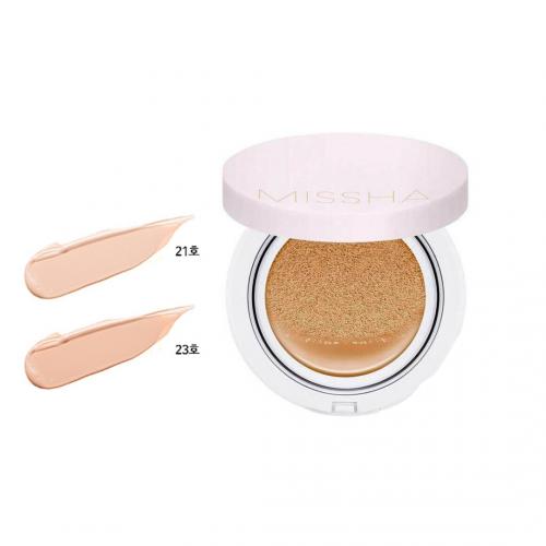 Тональный крем-кушон для стойкого макияжа Missha Magic Cushion Cover Lasting No.21 SPF50+ PA+++