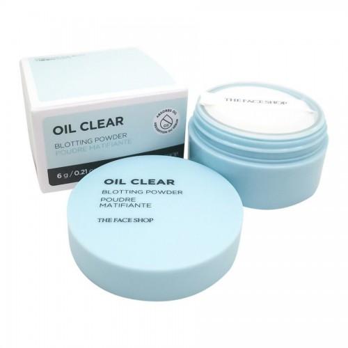 Пудра рассыпчатая матирующая N.TFS.B Oil Clear Blotting Powder