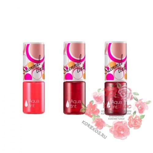 Тинт для губ питательный Saemmul Tint Aqua Pink