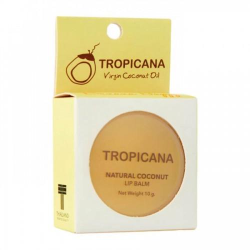 Бальзам для губ с кокосовым маслом TROPICANA Natural Coconut Lip Balm Mango