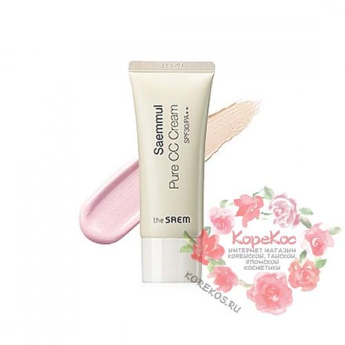 Крем СС чистый SPF30 Saemmul Pure CC Cream