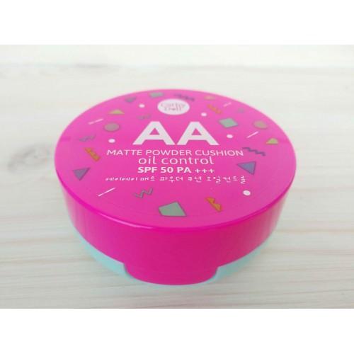 Кушон матирующий с контролем жирности AA Matte Powder Cushion Oil Control #23 Natural Beige