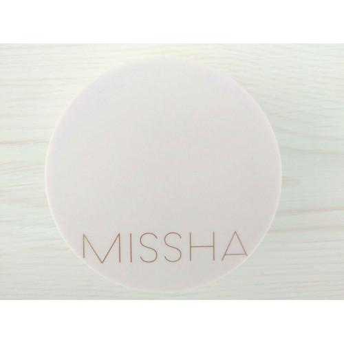 Тональный крем-кушон для стойкого макияжа Missha Magic Cushion Cover Lasting + сменный блок No.21 SPF50+ PA+++