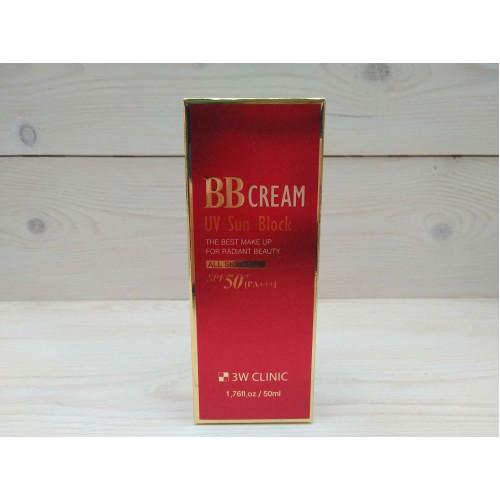 Солнцезащитный ВВ крем UV Sun Block BB Cream SPF50+/PA+++