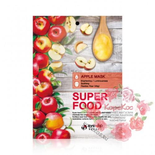 Маска для лица тканевая с экстрактом яблока EYENLIP SUPER FOOD APPLE MASK