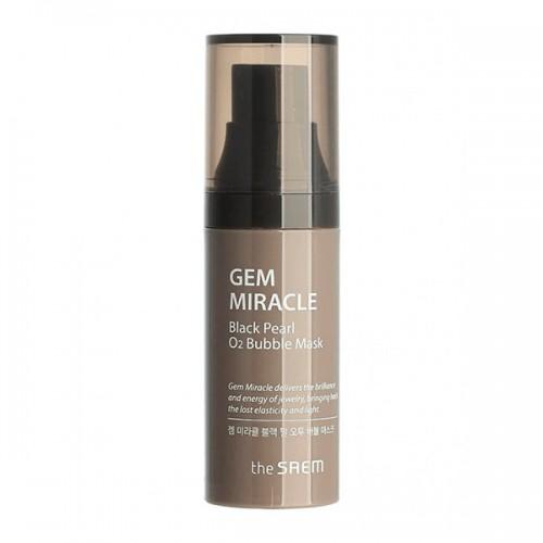 Маска кислородная с экстрактом жемчуга Gem Miracle Black Pearl O2 Bubble Mask 10 гр