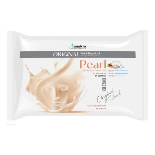 Маска альгинатная экстрактом жемчуга увлажняющая, осветляющая (пакет) 240гр Pearl Modeling Mask /Refill 240гр