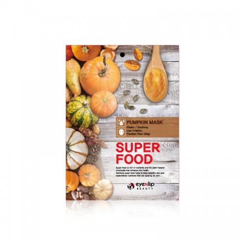 Маска для лица тканевая тыква EYENLIP SUPER FOOD PUMPKIN MASK