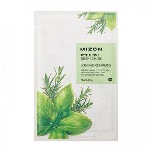 Тканевая маска для лица с комплексом травяных экстрактов Joyful Time Essence Mask Herb