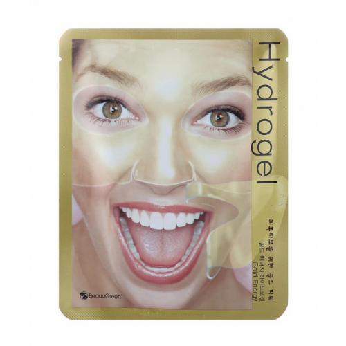 Маска-патч гидрогелевая Beauugreen Hydrogel Mask (GOLD ENERGY)