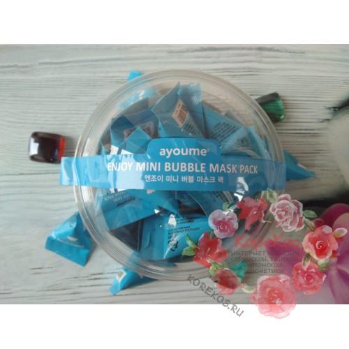 Маска для лица пузырьковая AYOUME ENJOY MINI BUBBLE MASK PACK