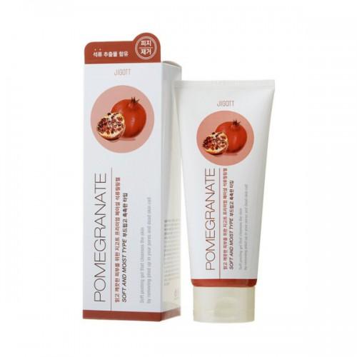 Пилинг-гель с экстрактом граната JIGOTT Premium Facial Pomegranate Peeling Gel