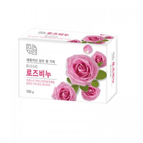 Мыло туалетное экстракт розы Rose Beauty Soap