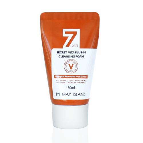 Пенка для умывания 7 Days Secret Vita Plus-10 Cleansing Foam