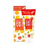 Витаминная пенка для очищения кожи FARMSTAY DR.V8 Vitamin Foam Cleansing