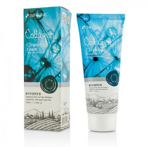 Укрепляющая пенка с коллагеном Collagen Cleansing Foam