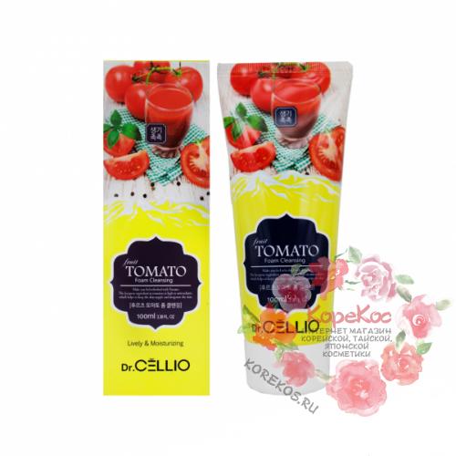 Пенка с экстрактом томата Dr.CELLIO G70 FRUIT TOMATO FOAM CLEANSING