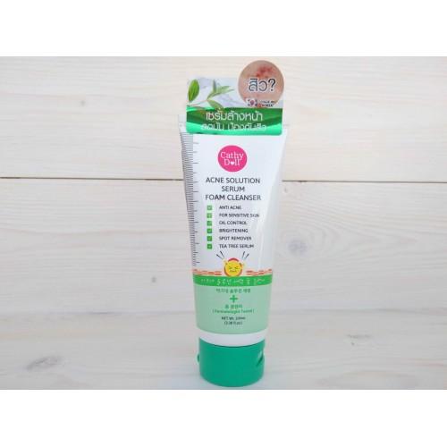 Очищающая пенка-сыворотка против акне Acne Solution Serum Foam Cleanser