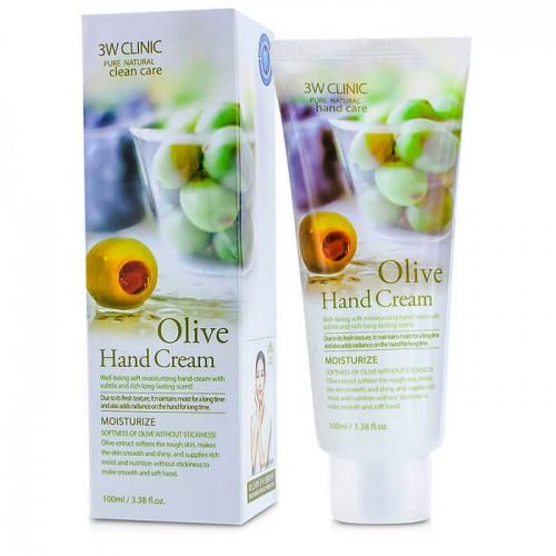 Крем для рук увлажняющий с экстрактом оливы Olive Hand Cream