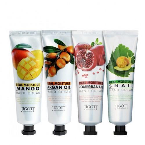 Увлажняющий крем для рук Jigott Real moisture Pomegranate hand cream