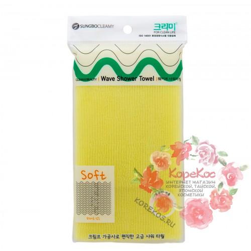 Мочалка для душа (28х95) Wave Shower Towel