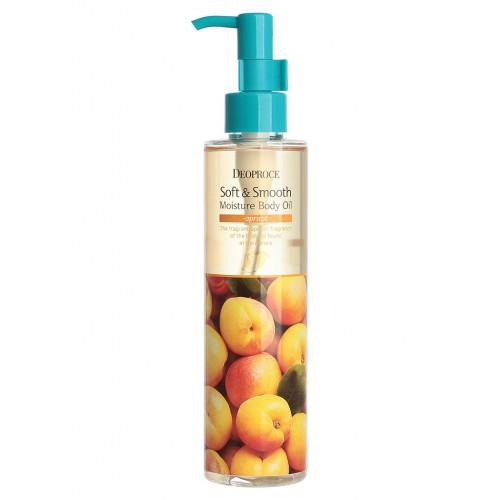 Увлажняющее масло для тела DEOPROCE Soft & Smooth Moisture Body Oil Apricot