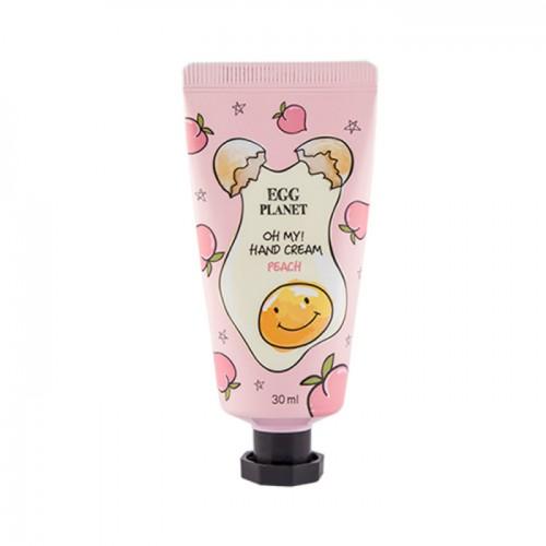 Крем для рук персик Egg Planet OH MY Hand Cream (Peach)