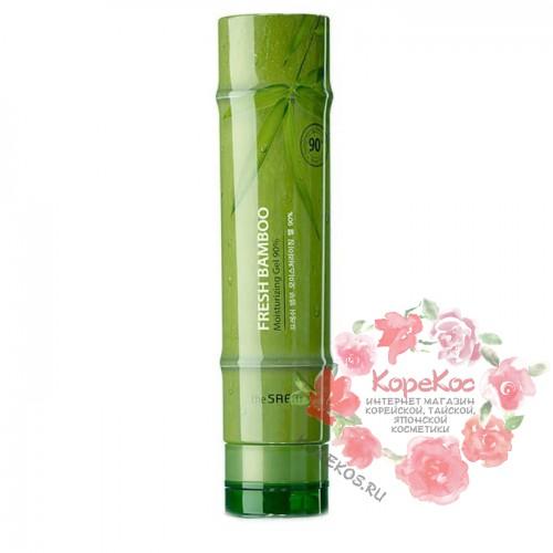 Гель для тела с экстрактом бамбука Fresh Bamboo Soothing Gel 99%