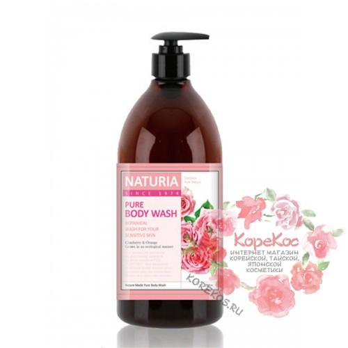 Гель для душа РОЗА/РОЗМАРИН PURE BODY WASH (Rose & Rosemary) 750 мл
