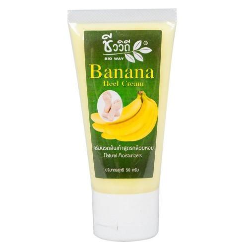 Банановый крем от трещин на пятках BIO WAY 50 мл