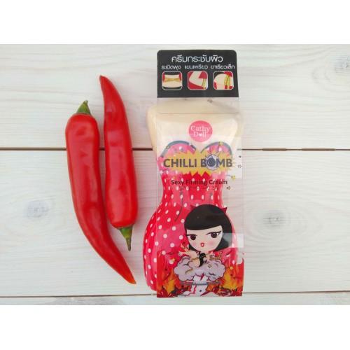 Антицеллюлитный крем для похудения и подтягивания кожи «Чили бомба» Sexy Firming Cream Chilli Bomba