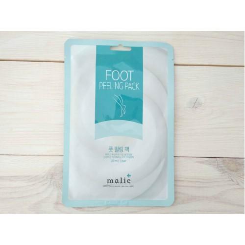 Пилинг-носочки для ног  Malie System Foot Peeling Pack
