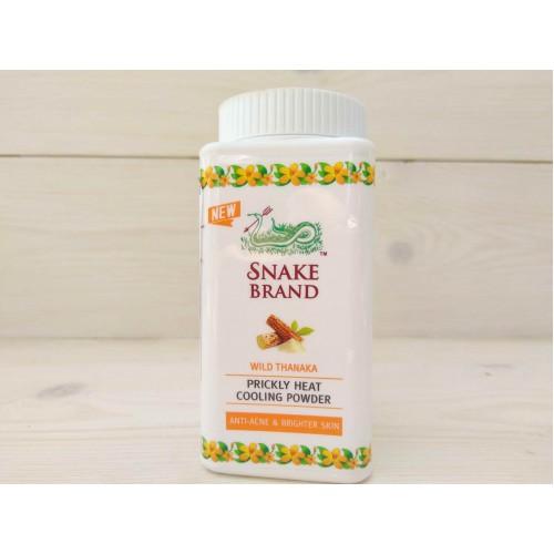 """Охлаждающая пудра-тальк """"Дикая Танака"""" Snake Brand Prickly Heat"""