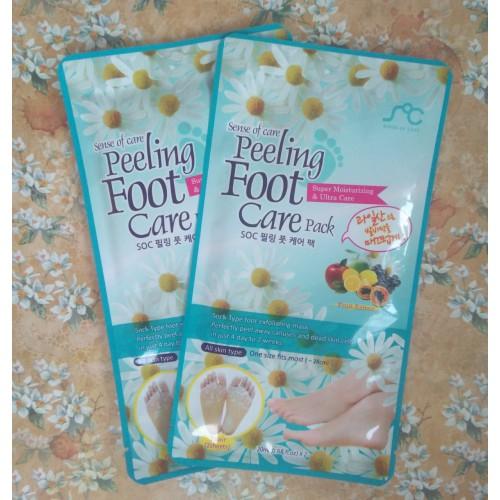 Пилинг по уходу за стопами Peeling Foot Care Pack