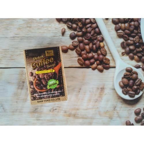 Антицеллюлитное детокс-мыло с кофе YOKO GOLD DETOX COFFEE SOAP