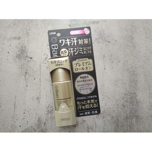 """Премиальный дезодорант-антиперспирант роликовый ионный блокирующий потоотделение """"Ban sweat Premium label"""""""