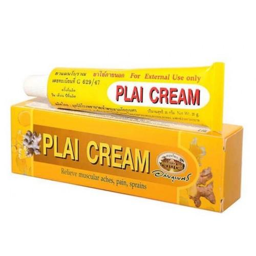 Крем от воспалений, синяков при мышечной боли Plai cream