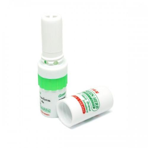 Пластиковый ингалятор от насморка и простуды Green Herb