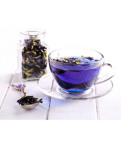 Синий чай – чай из цветов Клитории Butterfly Pea