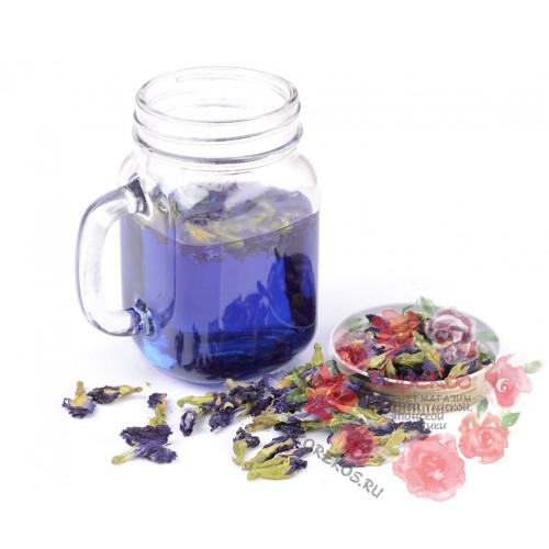 Тайский синий чай Анчан из цветов клитории